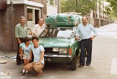 Photos of Turkish migrants in the Netherlands in the 60s en 70s