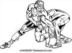 wrestling silhouette clip art bing images decorated cookies rh pinterest com mexican wrestler clipart sumo wrestler clipart