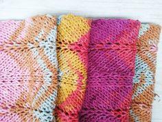 127 Knitting pattern cowl PDF / knitted scarf pattern /