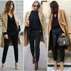 Best Street Style ideas of From outside the frontlines of Fashion Week to the latest celebrity looks, check back for the best street style outfit inspiration. Workwear Fashion, Work Fashion, Fashion Outfits, Fashion Styles, Friday Outfit For Work, Winter Mode, Street Style Trends, Professional Outfits, Look Chic