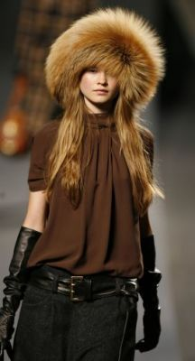 ok, can't get away with it but Love it!   Russian fur hat