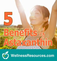 Astxanthin is an antioxidant 800X more potent than coenzyme Q10 and 6,000X more potent than vitamin C that helps eyes, skin, immunity and more!