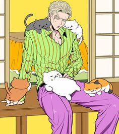 cats like Yoshikage Kira
