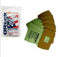 Disposable Vacuum Cleaner Bags 12 Pc Genuine Oreck Super Compact Canister Housek #OreckCommercial