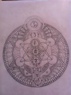 metatron's cube tattoo - Google Search