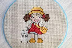 PATTERN: Mei and Chibi Totoro Cross Stitch [etsy]