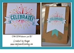 CTMH June 2014 SOTM Kaboom.  Uses the rock 'n roll technique.