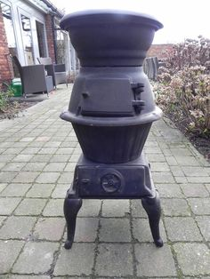 Online veilinghuis Catawiki: A cast iron wood stove - Western Germany - circa 1930 Morso Wood Stove, Cast Iron, Belgium, Westerns, Germany, Vintage, Deutsch, Vintage Comics