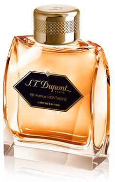 58 Avenue Montaigne Pour Homme Limited Edition S.T. Dupont cologne - a new fragrance for men 2013