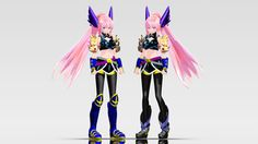 TDA - Battle Maiden Luka Download by Ooma-p
