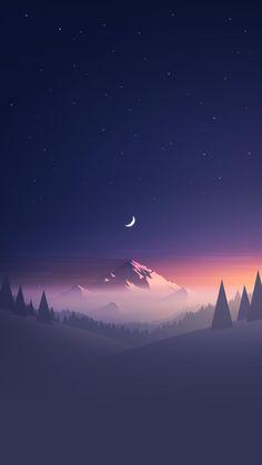 Mountains sunset wallpaper by Nimalus - - Free on ZEDGE™ Look Wallpaper, Night Sky Wallpaper, Minimal Wallpaper, Wallpaper Space, Sunset Wallpaper, Anime Scenery Wallpaper, Landscape Wallpaper, Tumblr Wallpaper, Photo Wallpaper