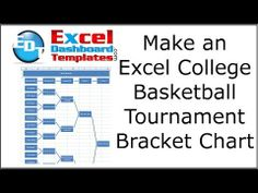 how to make a tournament bracket in excel