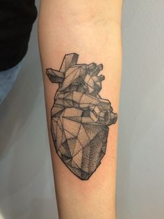 Hi, I love your blog and I just got my first tattoo done yesterday, so I thought I'd submit it :) It's based on an origami heart tattoo I'd seen a while ago, that my tatoo artist redesigned for me.submitted by http://the-fault-in-public-wifi.tumblr.com