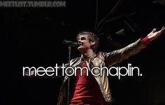 Meeting Tom Chaplin of Keane.