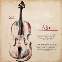 Cello Print by Hakimipour-Ritter at eu.art.com