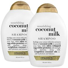 Organix Coconut Milk Shampoo's hydrating formula softens and conditions your hair. Its special blend is made up of coconut milk, for nourshing, egg white prote…