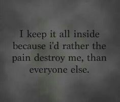 Depressed today So true... This is me to a T