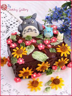 Cooking Gallery: Totoro Cake