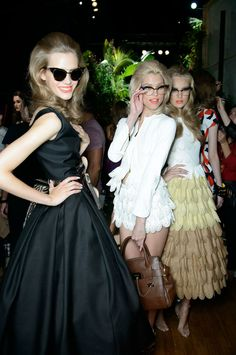 backstage at dsquared2 SS14 rtw