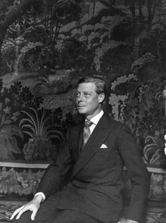 The Duke of Windsor in 1937, photographed by Cecil Beaton.