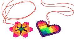 #hama #beads pendant Bead Crafts, Fun Crafts, Arts And Crafts, Hama Beads, Fuse Beads, Diy For Kids, Crafts For Kids, Minecraft Beads, Christian Crafts