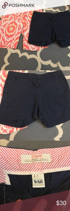J. Crew shorts bundle Great condition shorts by J. Crew that still have a lot of life left. One is a Bermuda pair J. Crew Shorts