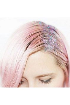 Glitter Roots: The Kit How To Do It Step By Step Tutorial Beauty Idea (Vogue.co.uk)