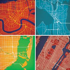 bold graphic city maps topography map city maps map illustrations art and architecture