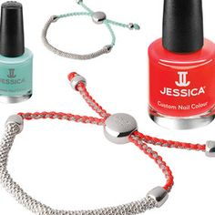"""As see on Redonline, Jessica's collaboration with @schtick40 of London : """"Looking for an excuse to treat yourself?  Links of London has teamed up with Jessica nails to celebrate its latest collection launch. If ever there was a good time to splash out on designer jewellery, now is certainly it."""""""
