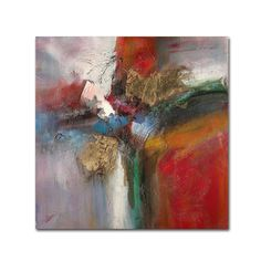 Bounce by Ricardo Tapia Painting Print on Wrapped Canvas