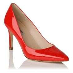 Floret Patent Leather Point Toe Heel $325