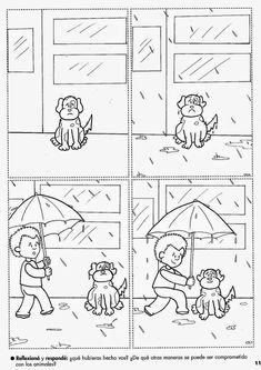 A very good 4 picture sequence story. Immense potential skills can be taught through this one such as; cause and effect Inference Emotions 4 ) sequencing Sequencing Worksheets, Sequencing Cards, Story Sequencing, Worksheets For Kids, Language Activities, Writing Activities, Classroom Activities, Teaching French, Teaching English