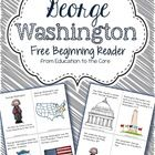 Freebie just in time for President's Day!  President's Day Beginning Reader.    Celebrate George Washington's Birthday by learning about important ...