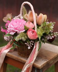 369 best flowers in basket images in 2019 floral arrangements rh pinterest com