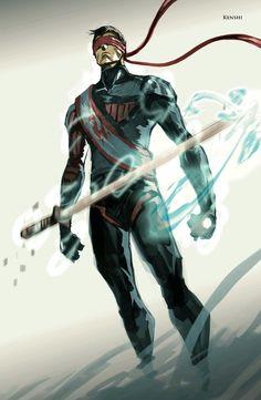 #Kenshi Mortal Kombat concept art