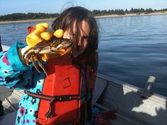 Crabbing in Nehalem Bay.  Get your boat and gear from http://www.kellyscrabs.com/home.htm  and head out for a lot of fun.  Kelly does all the cleaning and dirty work for you so all you have to do is come home and eat them!