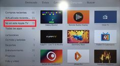 Lee Nueva sección en el App Store de tvOS: No en este Apple TV