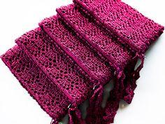 Purple Personalized Bridesmaid Clutch Bags Set of by KeraSoftwear