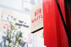 Supreme, Waffles, Places To Go, Neon Signs, Blog, Waffle, Blogging
