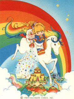 Rainbow Brite was a big deal to little girls in the She was a big deal to me i remember sleeping in rainbow bright sheets :) 90s Childhood, My Childhood Memories, My Little Pony, Little Girls, Retro, Love Rainbow, Wow Art, 80s Kids, Anime
