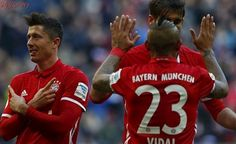 Bayern ztrapnil Hamburk osmi góly, za Herthu se trefil Darida