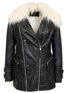 Casual Pu Jacket - River Island - Black - Jackets And Coats - Clothing - Women - Nelly.com