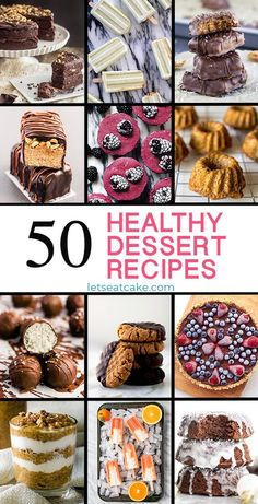 These healthy dessert recipes will help you stay on track with healthy eating this year! Delicious desserts from healthy cake recipes and healthy cookies to ice cream, tarts, and energy bites. Vegan, Paleo, and gluten-free recipe ideas! #healthyfood #healthyeating #healthylife #healthyfoodshare #healthyfoodie #veganfood #veganrecipes #vegan #easyrecipe #easydesserts #desserttime #desserts #dessertrecipes #dessertlover #letseatcake #allrecipes #food #yummyrecipes
