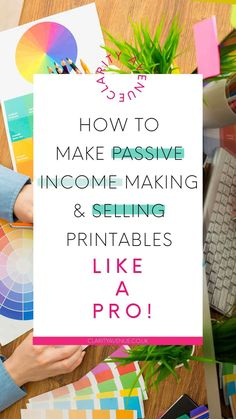 Want to make passive income online? One great way to make money online is by selling digital files and printables. Learn how to make and sell printables Make Money Blogging, Make Money From Home, Way To Make Money, Make Money Online, Blogging Ideas, Social Media Etiquette, Creative Class, Blogging For Beginners, Selling Online