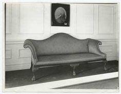 Americká pohovka z brzkého počátku 19. století