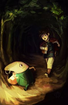 Ni No Kuni by theheadlessgirl.deviantart.com on @deviantART.....Going to start this game! Pretty excited to see what it has in store