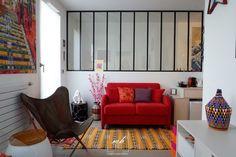 Dans le 15e arrondissement de Paris, Morgane Debieu, architecte d'intérieur MH DECO à Saint-Germain-en-Laye, est intervenue dans un superbe duplex pour imaginer des meubles sur-mesure.