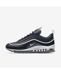 f8be53e8d793e2 Nike Air Max 97 Ultra  17 Midnight Navy Cool Grey Pure Platinum White  918356-