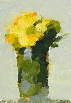 Stanley Bielen ~ ''Yellow Marigolds''