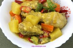 Filipino Dishes, Filipino Recipes, Fast Easy Meals, Pinoy Food, Cook At Home, Chicken Curry, Easy Food To Make, Curry Recipes, How To Cook Chicken